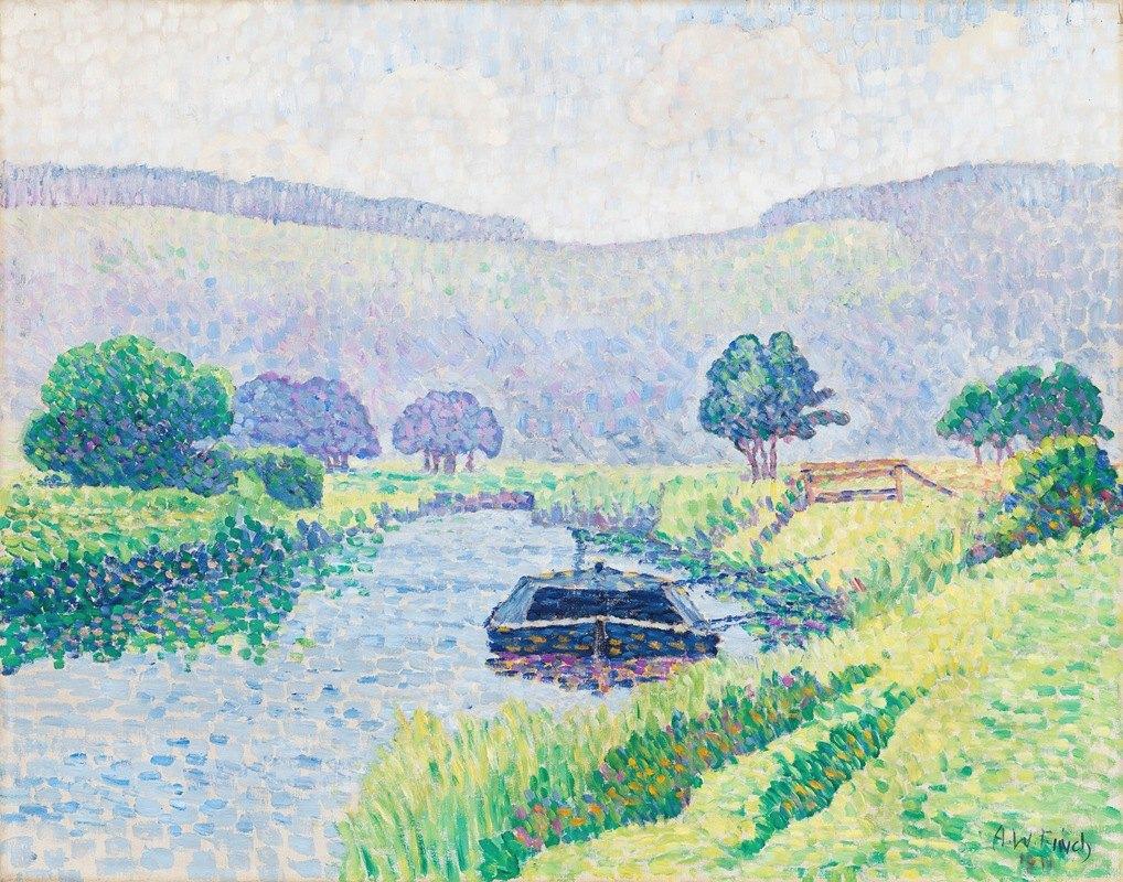 Alfred William Finch - Amberleyn jokilaakso (Arunjoki)