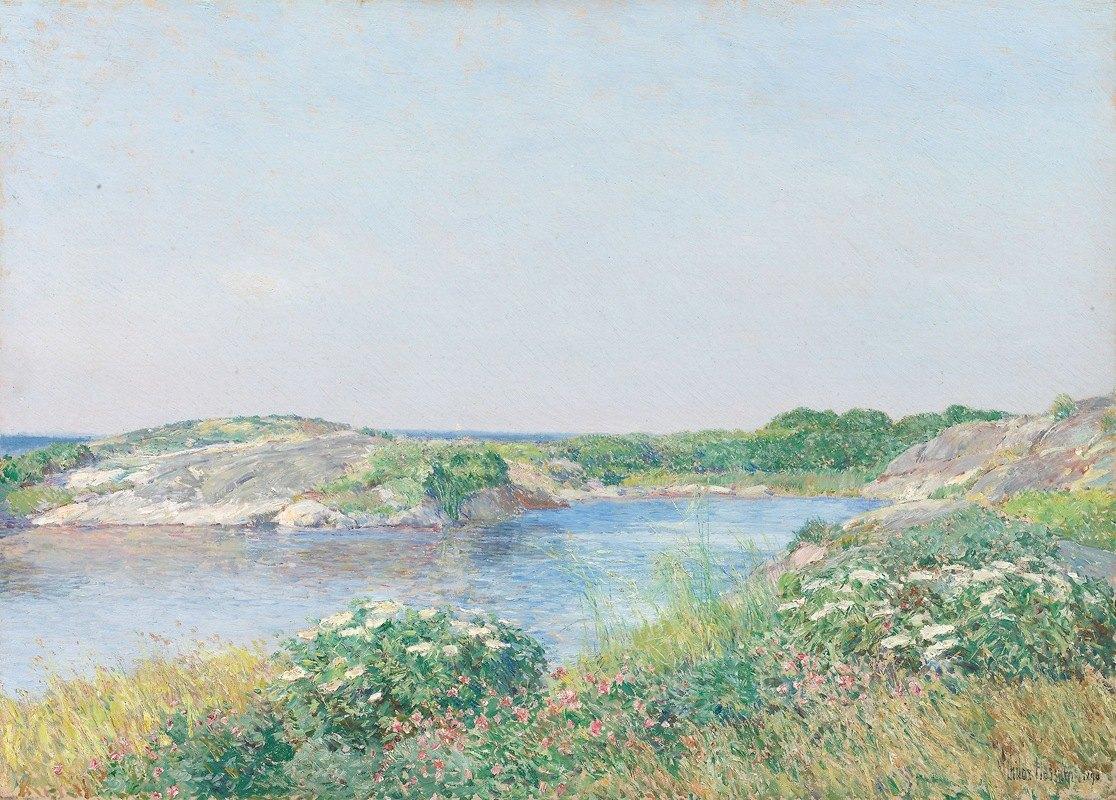 Childe Hassam - The Little Pond, Appledore