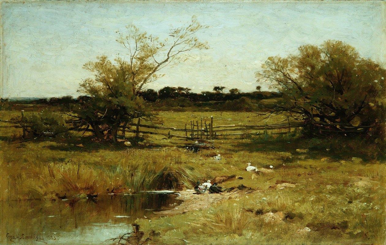 George Henry Smillie - East Hampton Meadows