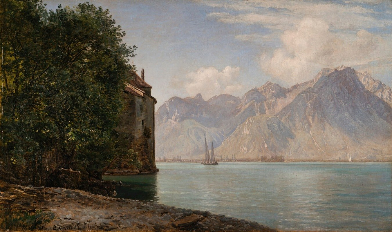 Janus la Cour - Château De Chillon,Lake Geneva