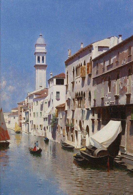Rubens Santoro - Venetian Canal