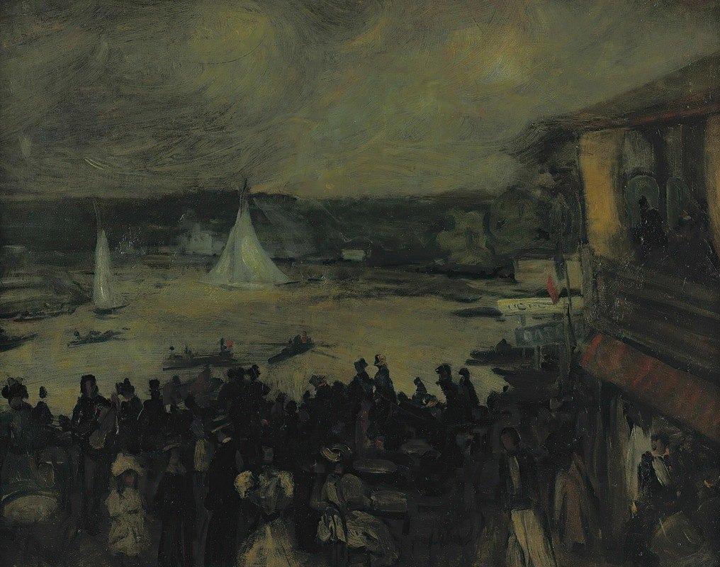 William James Glackens - Sailing Boats – Paris