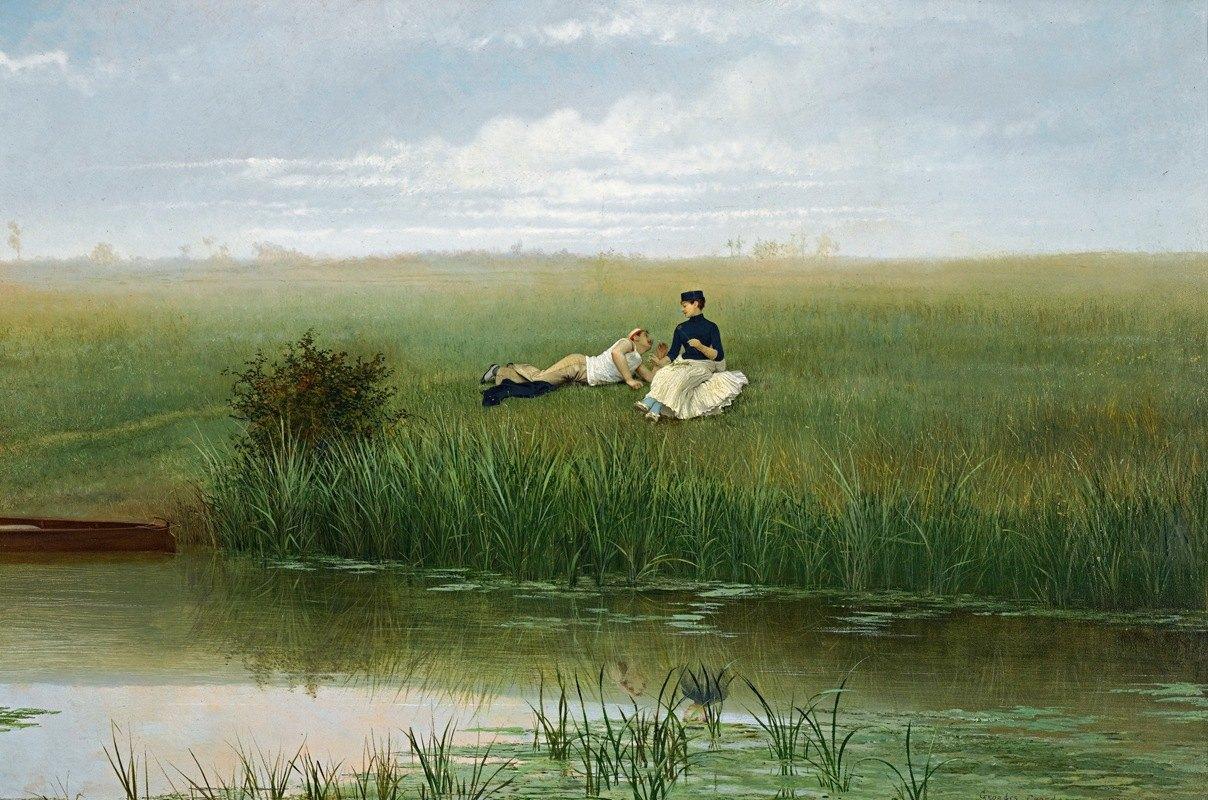 Georges Croegaert - Le Repos Des Canotiers