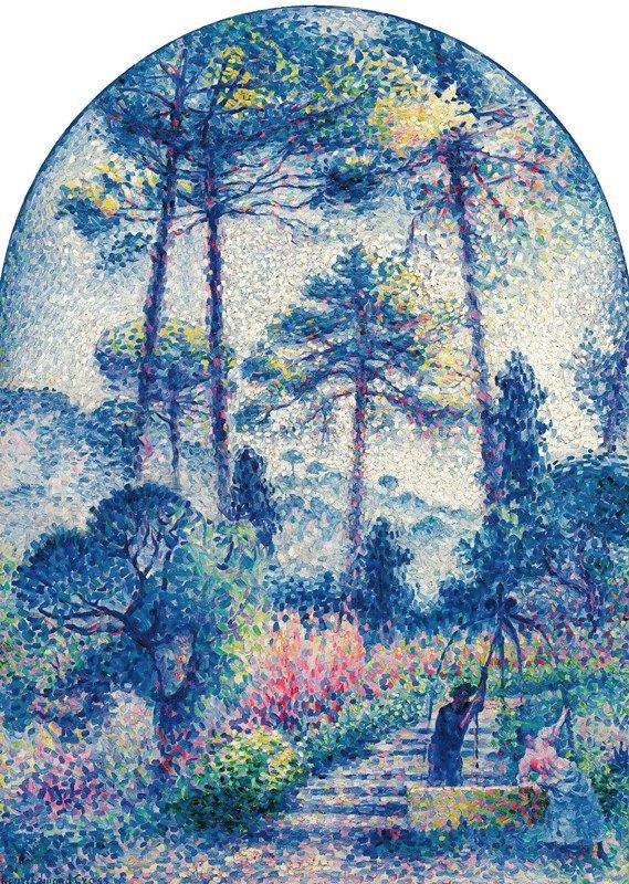 Henri-Edmond Cross - Le Jardin En Provence