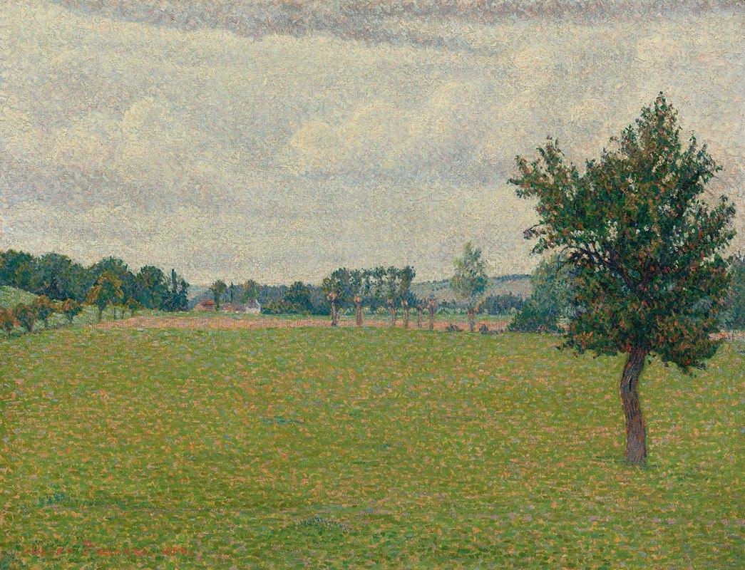 Lucien Pissarro - Prairie De Thierceville