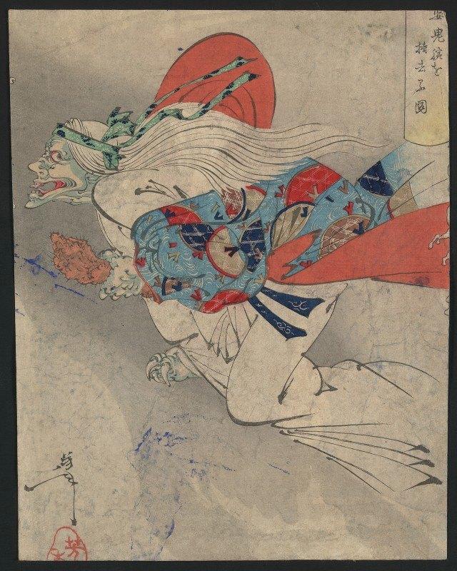Tsukioka Yoshitoshi - Ibaraki