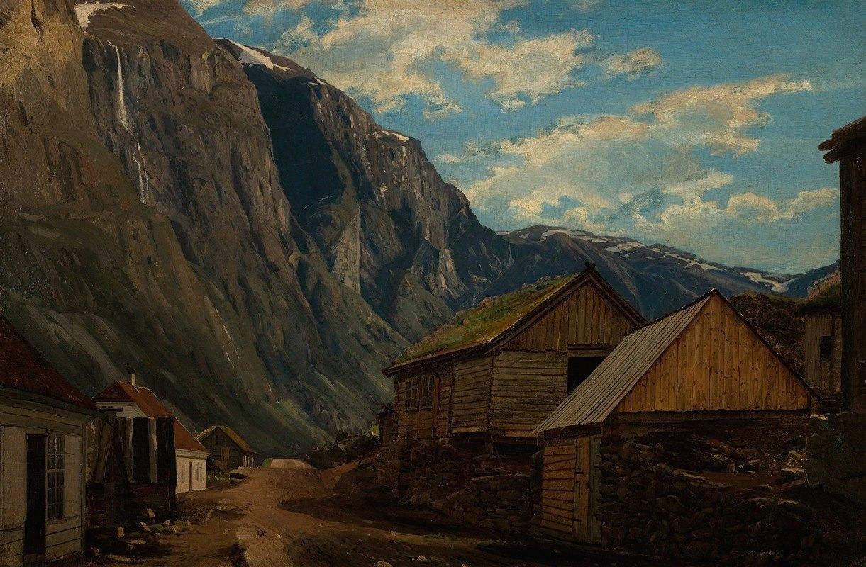 Amaldus Nielsen - Fra Gudvangen