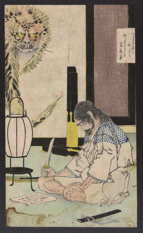 Tsukioka Yoshitoshi - Natsu no yo no tsuki