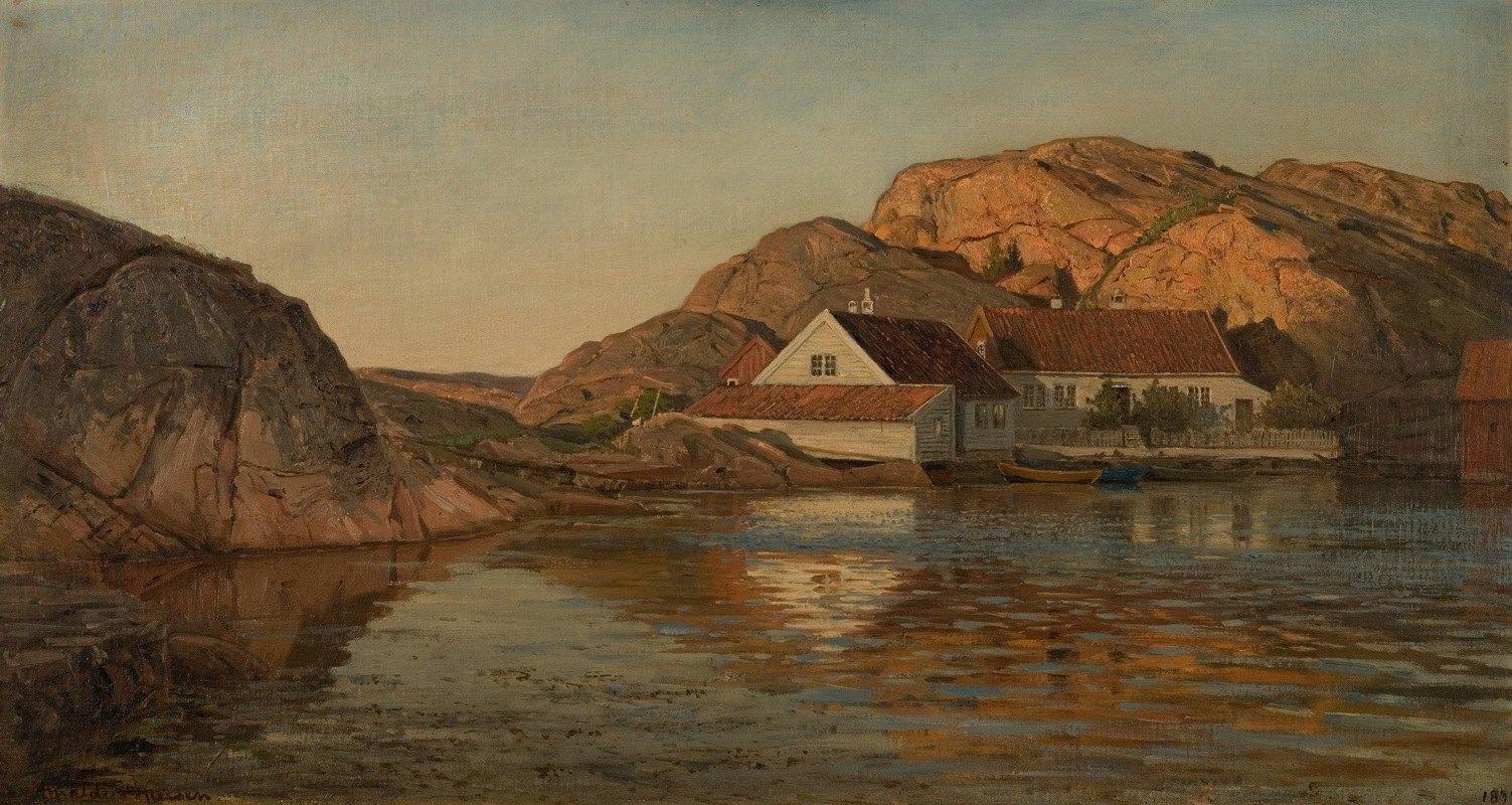Amaldus Nielsen - Renneholmen, Ny-Hellesund