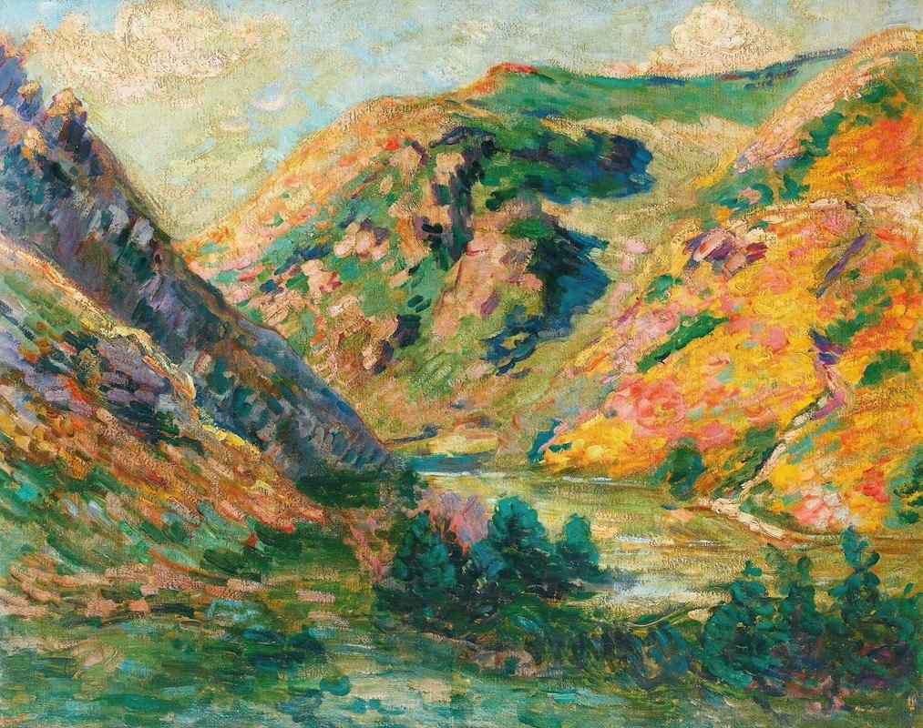 Armand Guillaumin - Les Carolles, Vallée De La Lude