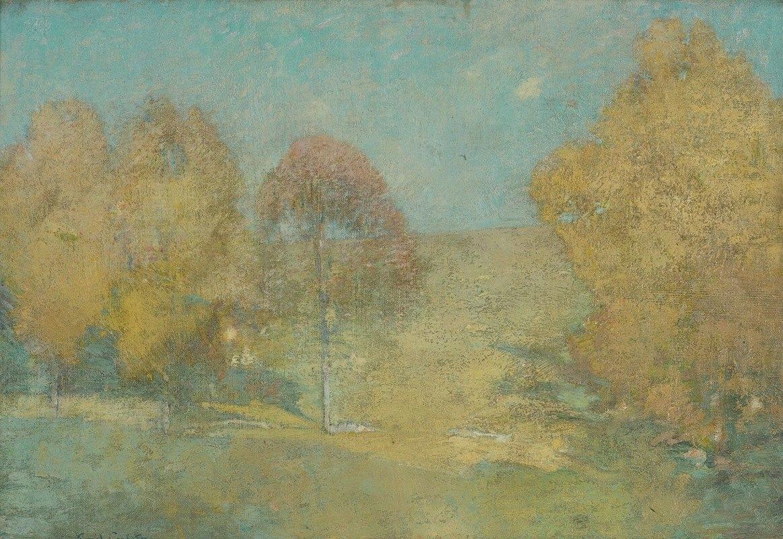 Emil Carlsen - Autumn Morning-Fading Moon