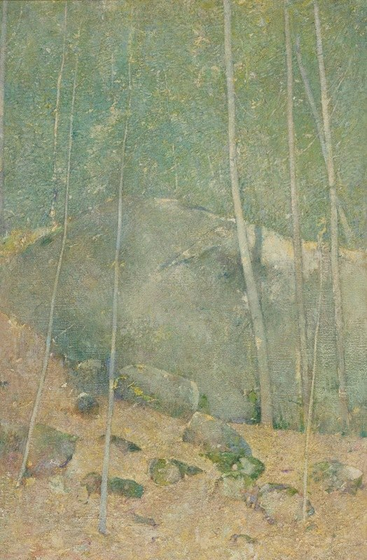 Emil Carlsen - In The Maine Woods