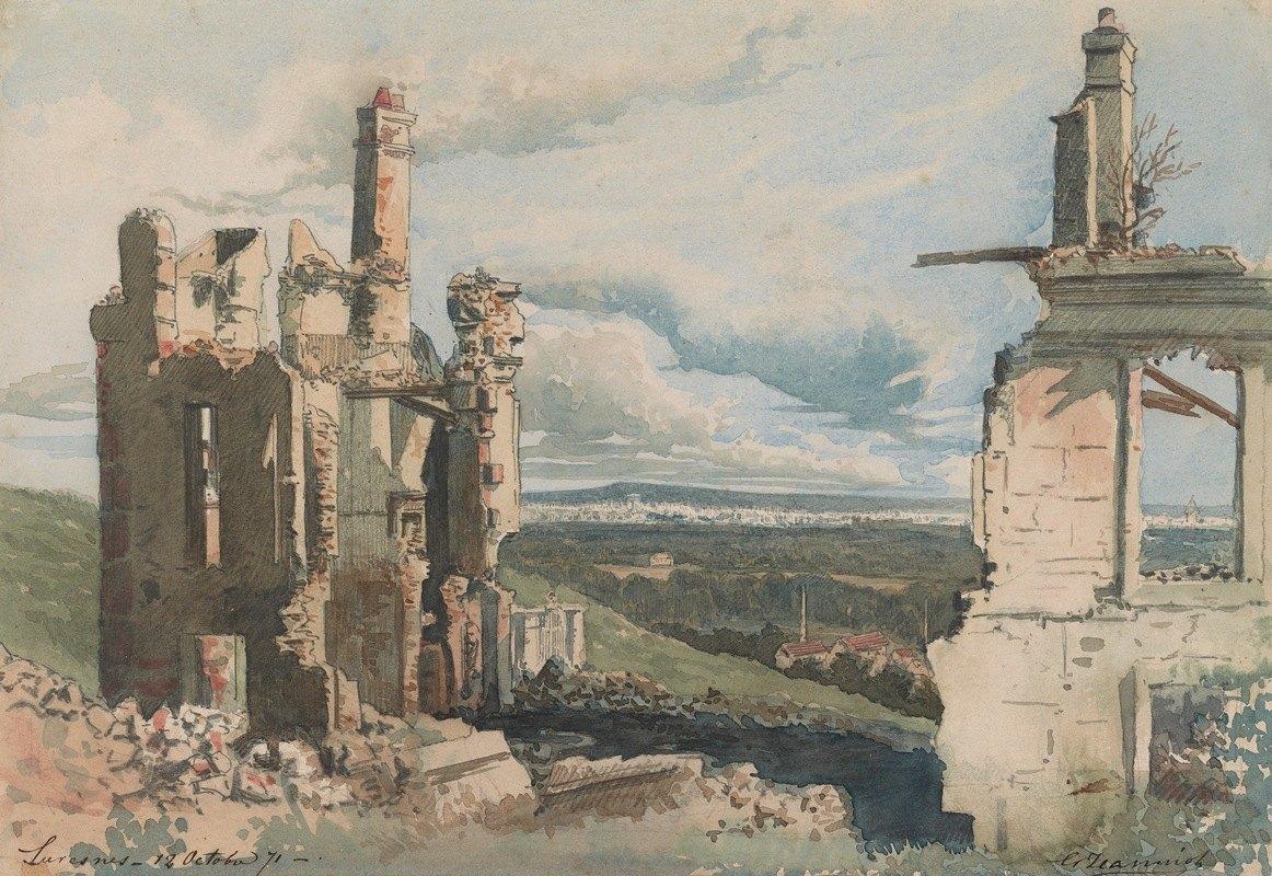 Georges Jeanniot - The Devastation ofSuresnes