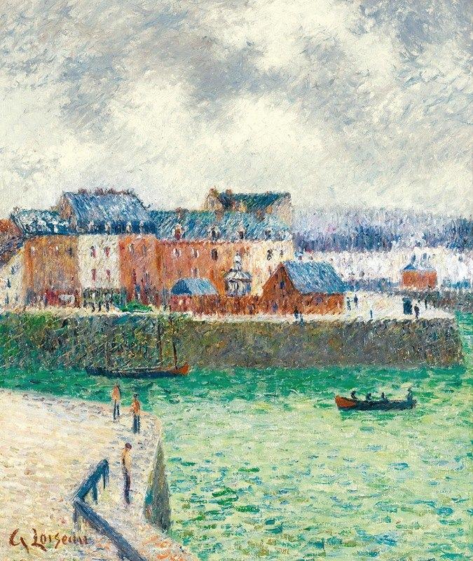 Gustave Loiseau - Le Port (L'avant-Port De Dieppe)