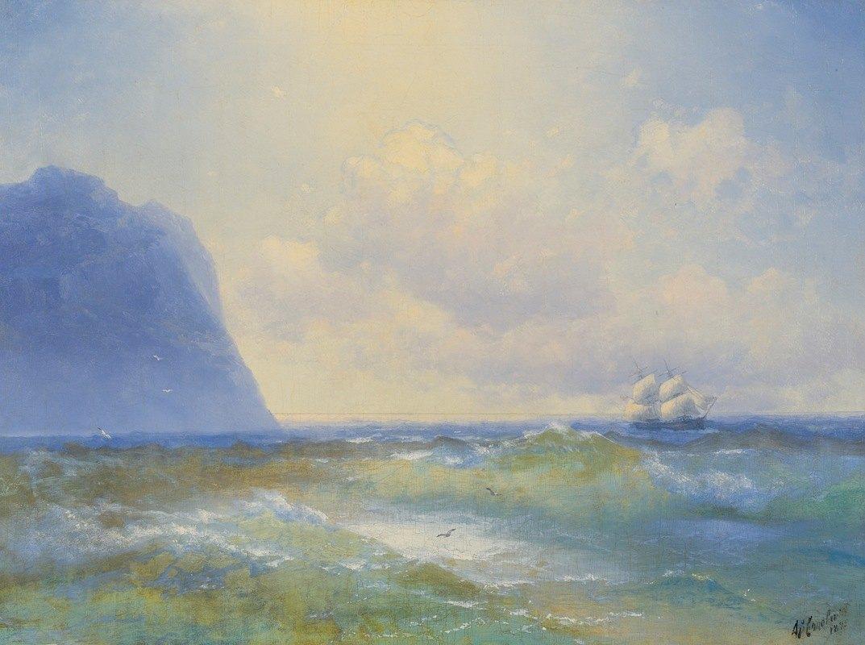 Ivan Konstantinovich Aivazovsky - Ship At Sea