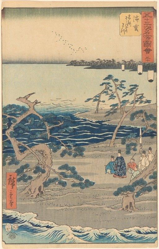 Andō Hiroshige - Hamamatsu