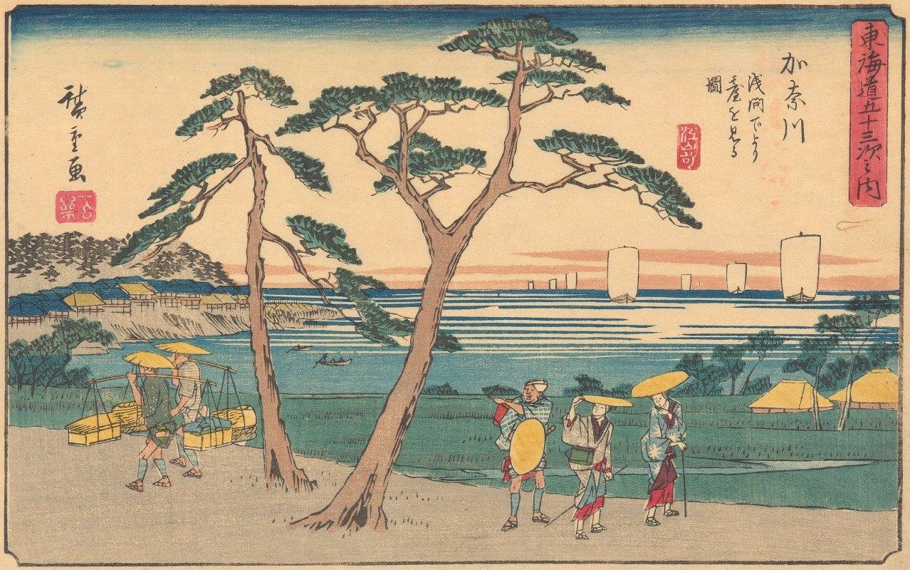 Andō Hiroshige - Kanagawa