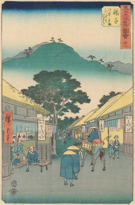 Andō Hiroshige - Mariko
