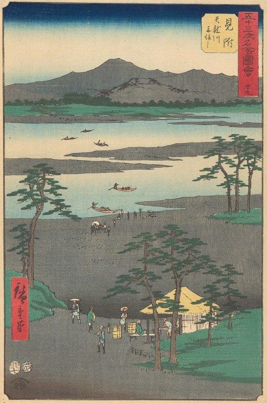 Andō Hiroshige - Mitsuke