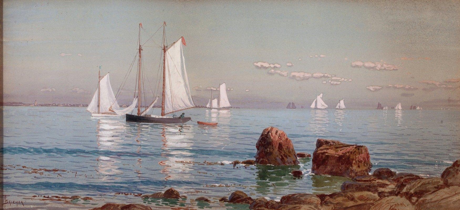 Alfred Thompson Bricher - Narragansett Bay