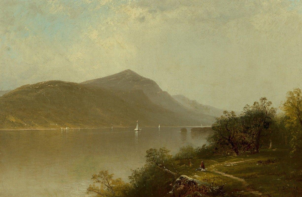 Alfred Thompson Bricher - Along the Hudson River