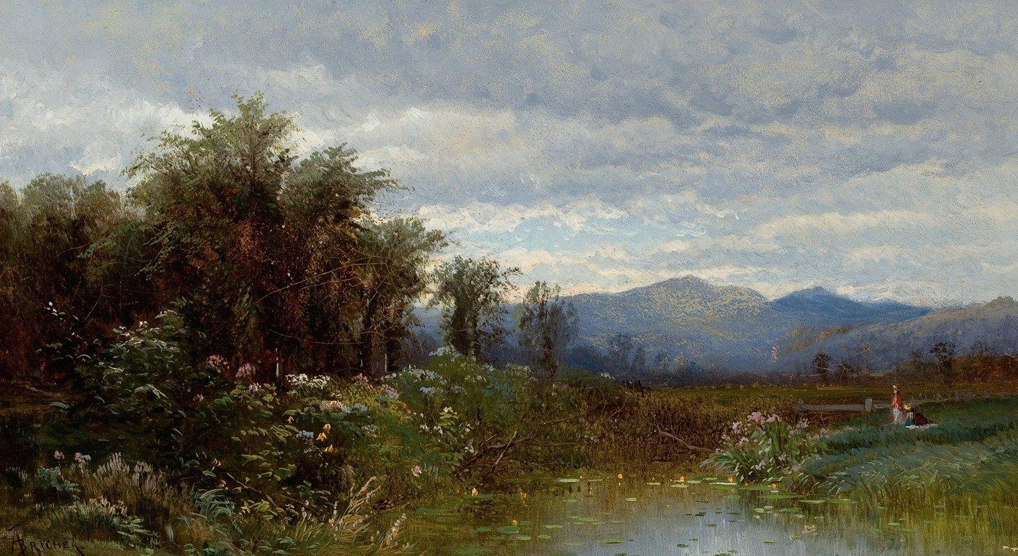 Alfred Thompson Bricher - North Conway, New Hampshire