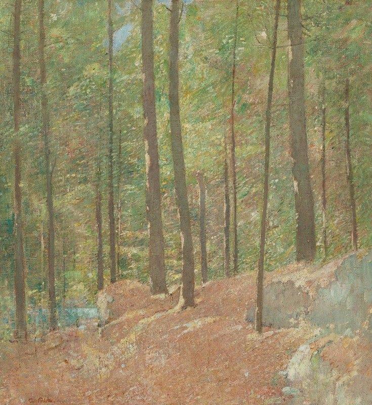 Emil Carlsen - In the Pine Woods