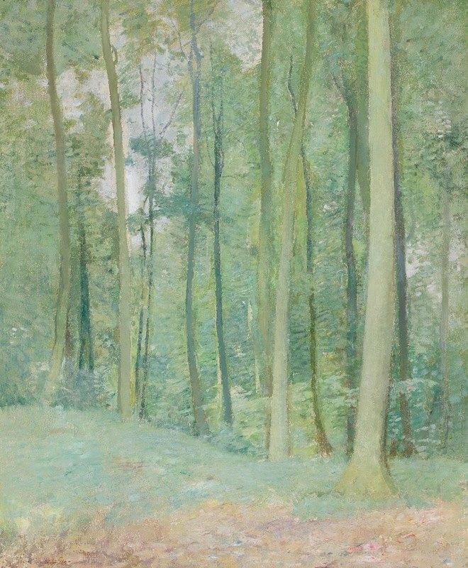 Emil Carlsen - Wooded Landscape