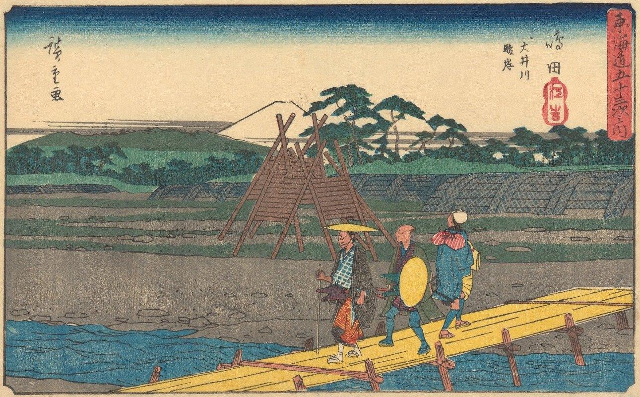 Andō Hiroshige - Shimada