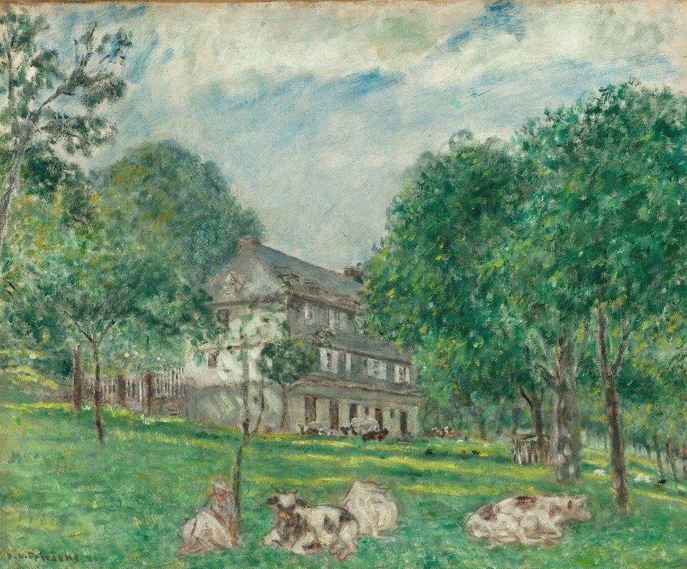 Frederick Carl Frieseke - Cows at Noon