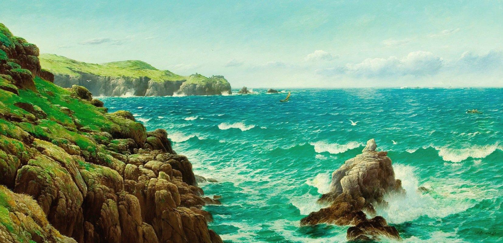 David James - Sea Cliffs