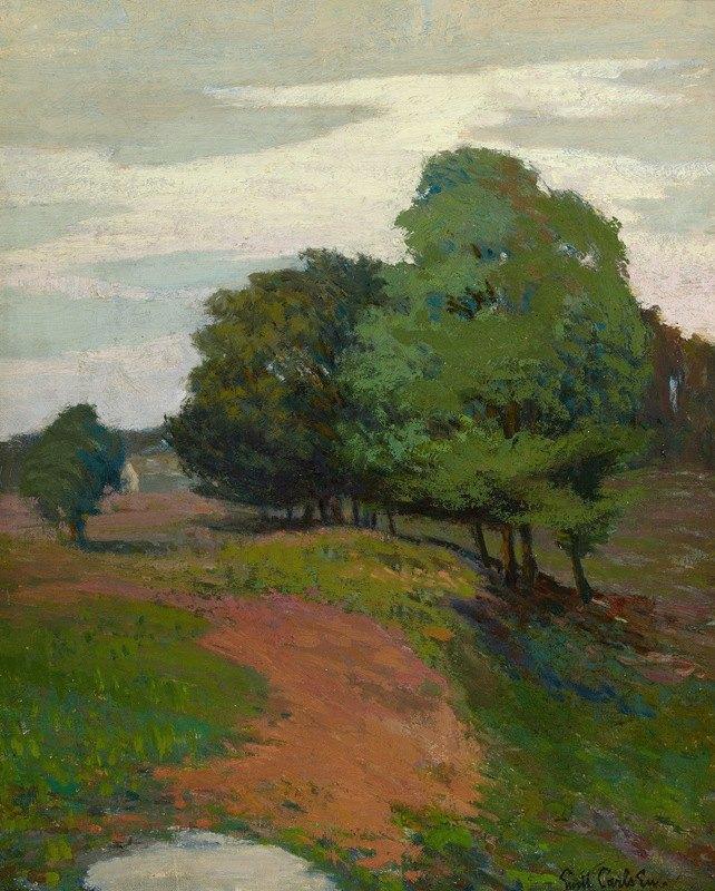 Emil Carlsen - Landscape