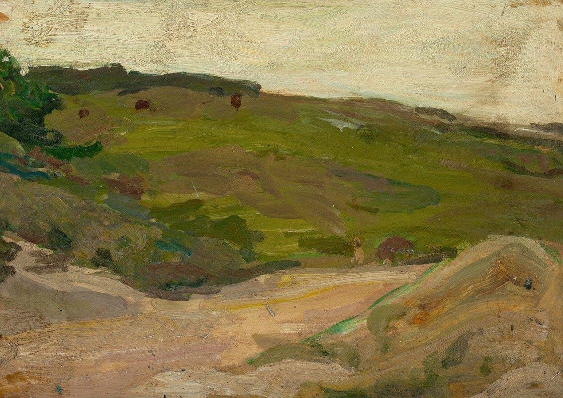 Henry Ossawa Tanner - Country Scene in the Adirondacks