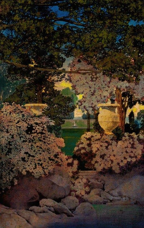 Maxfield Parrish - The Oaks