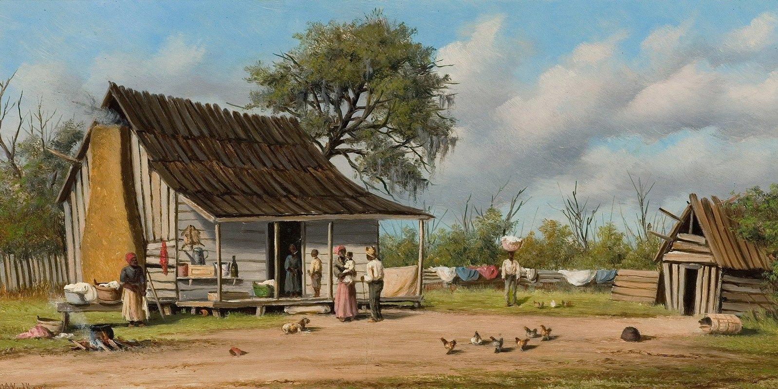 William Aiken Walker - Cabin Scene