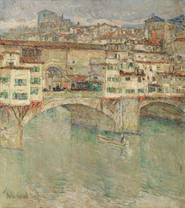 Childe Hassam - Ponte Vecchio