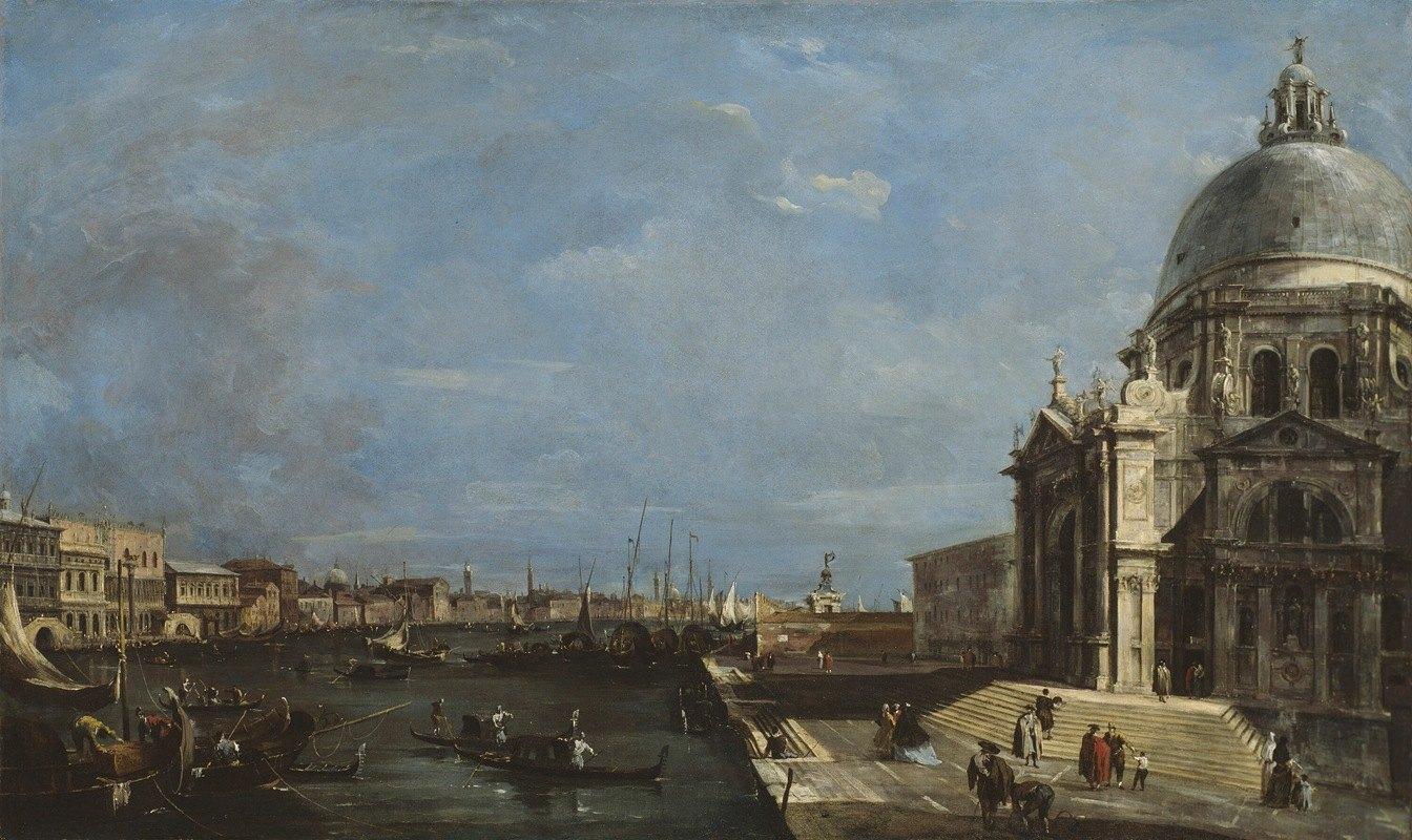 Francesco Guardi - The Grand Canal, Venice
