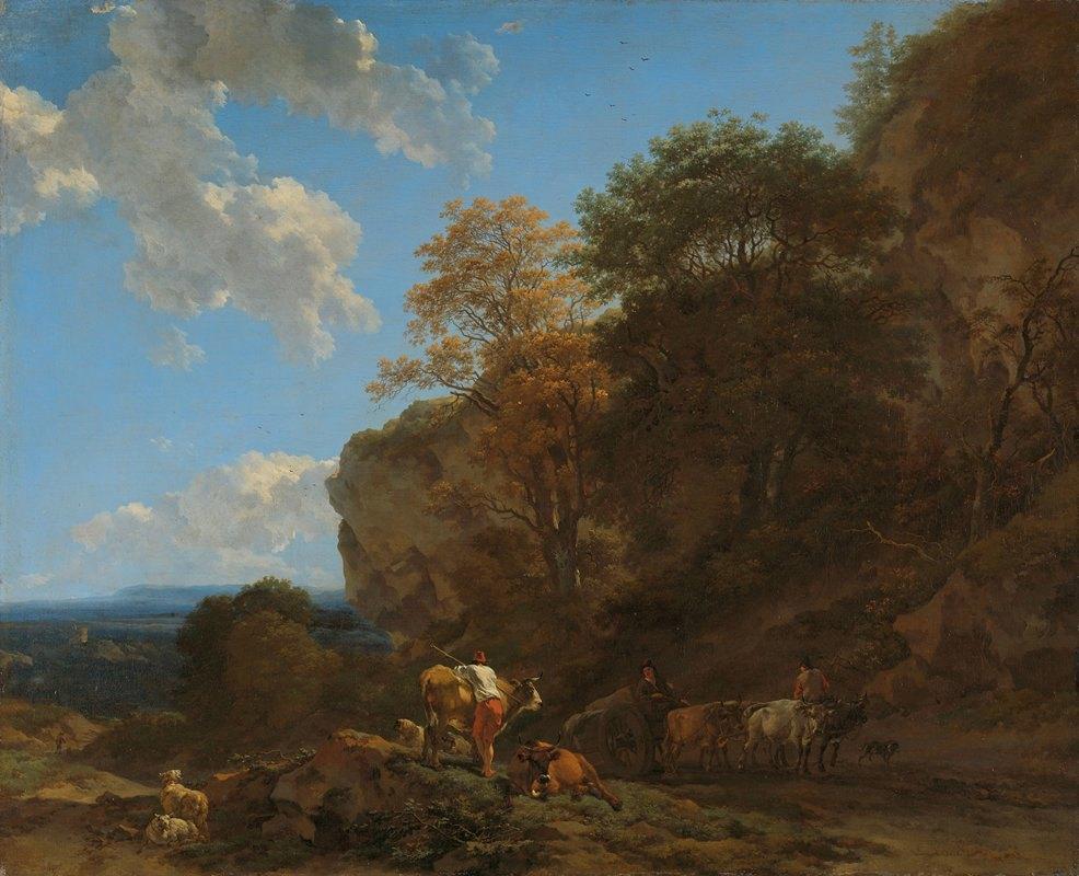 Nicolaes Pietersz. Berchem - Italian Landscape