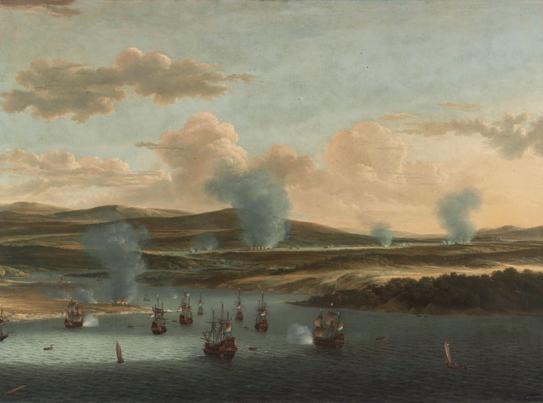 Willem Schellinks - Battle of Medway