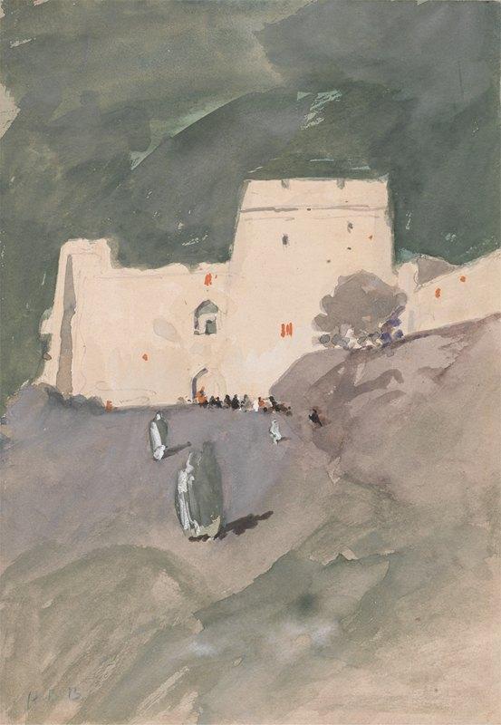 Hercules Brabazon Brabazon - A Moorish Citadel