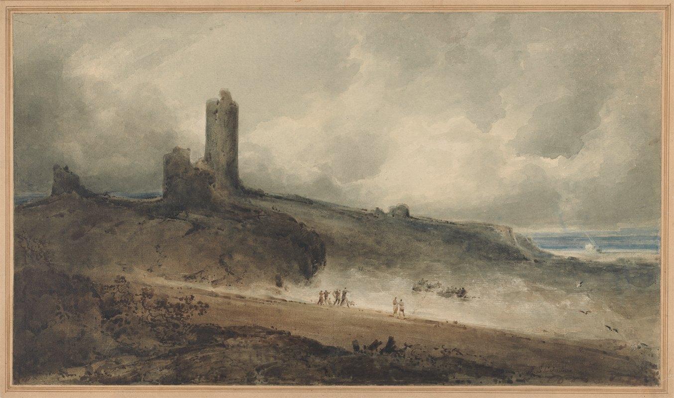 John Sell Cotman - Aberystwyth Castle