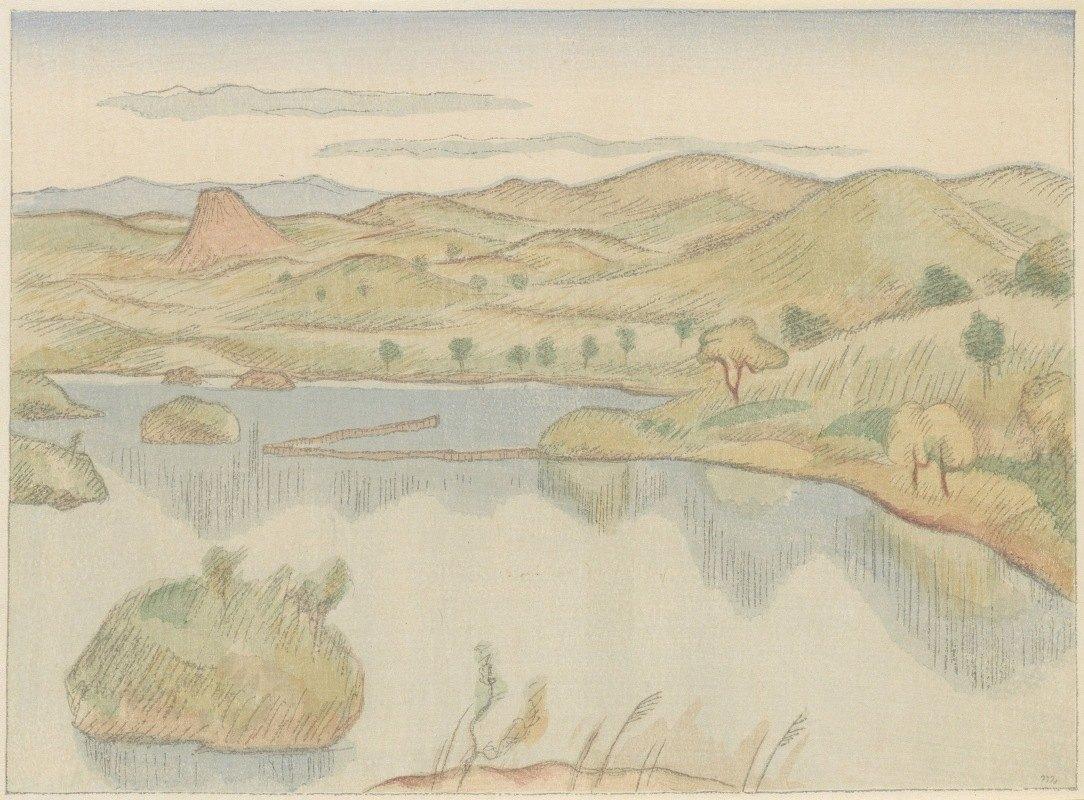 Morita Tsunetomo - Meer aan de voet van de Bandaisan berg