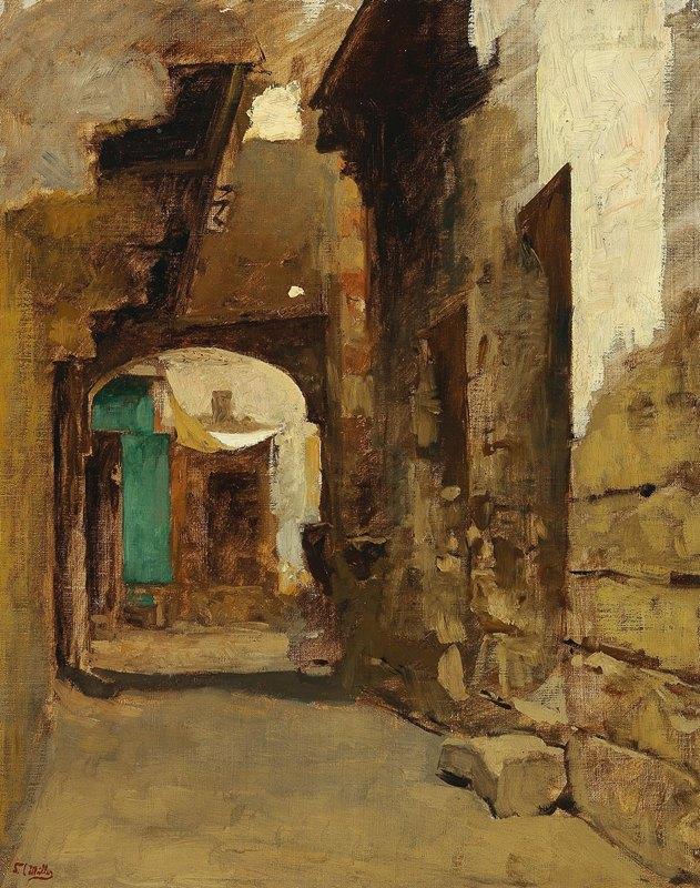 Leopold Carl Müller - Oriental Street