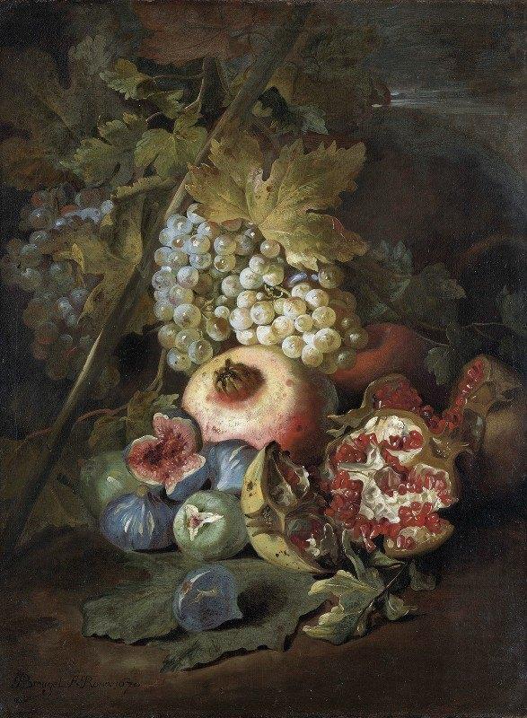 Abraham Brueghel - Stilleven met vruchten