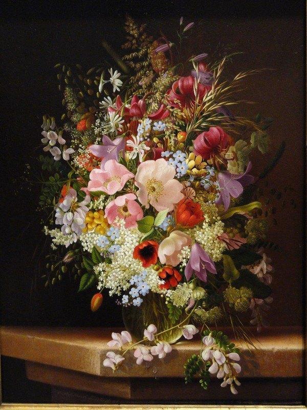 Adelheid Dietrich - Still Life of Flowers