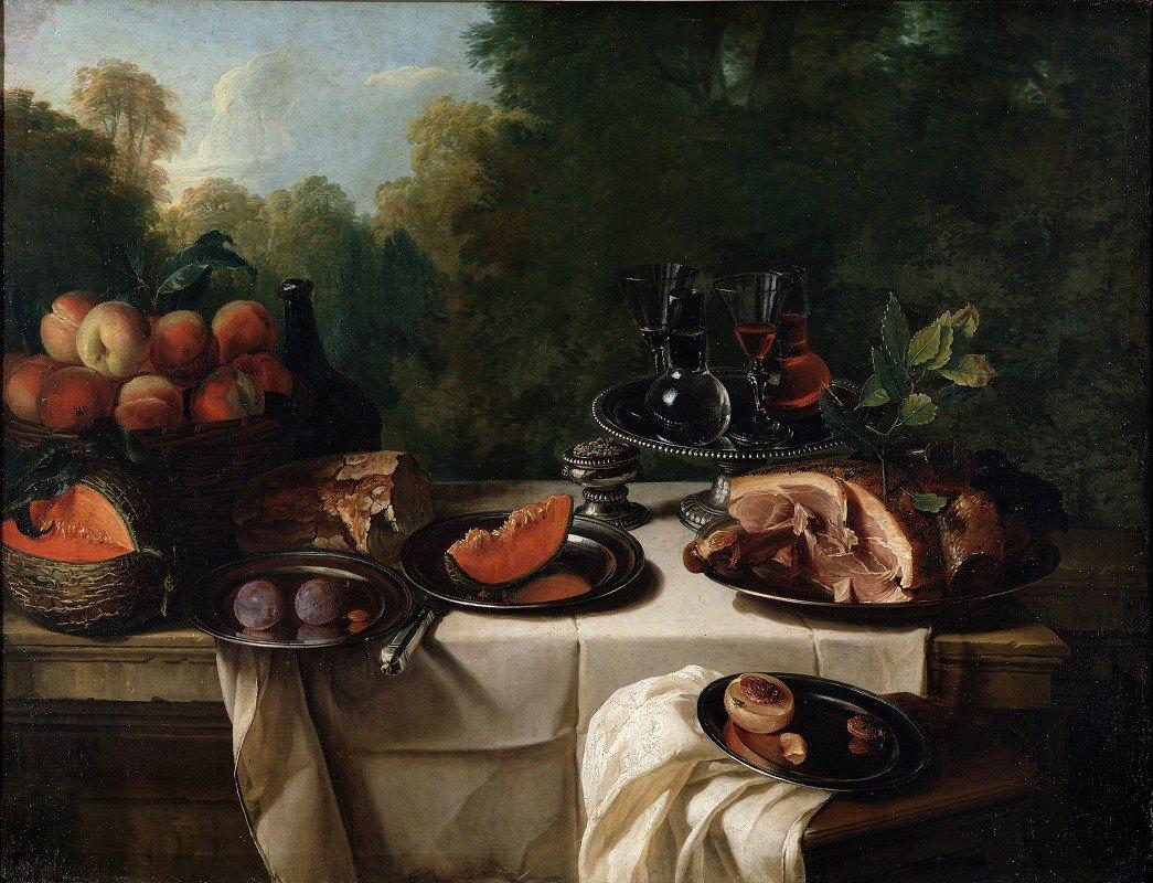 Alexandre François Desportes - Breakfast Piece with Ham