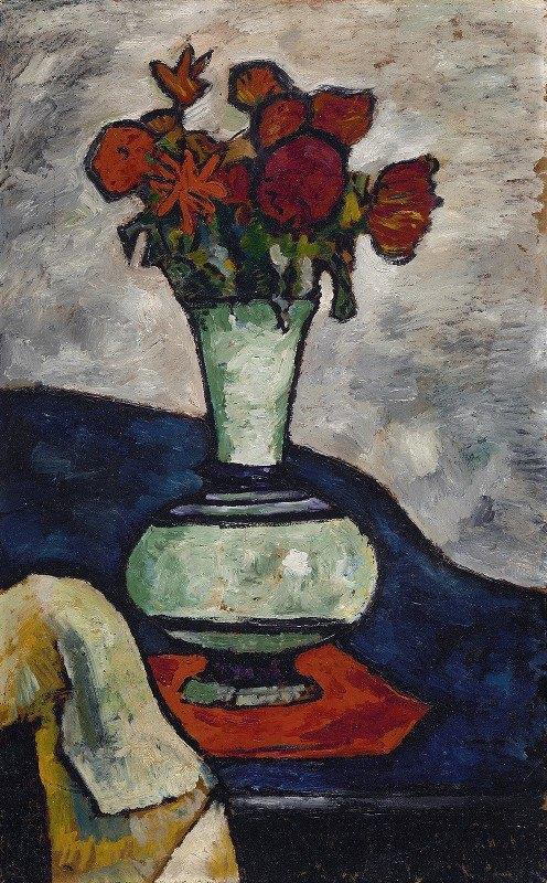 August Macke - Wilting Flowers