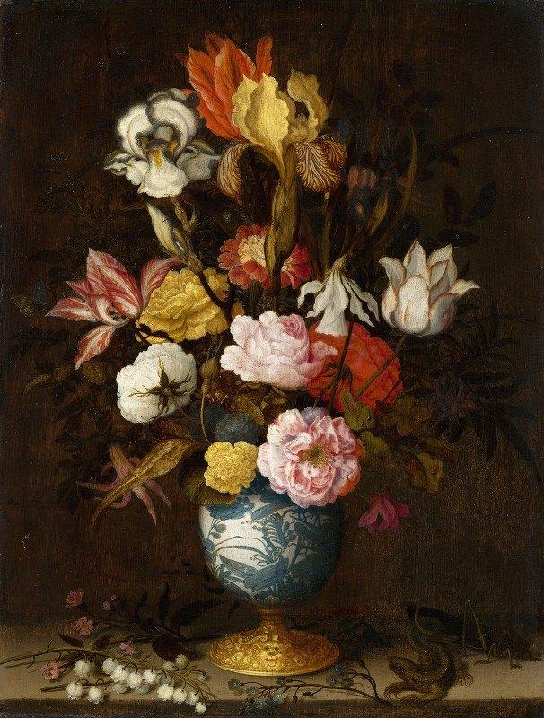 Balthasar van der Ast - Flowers in a Wan-Li Vase