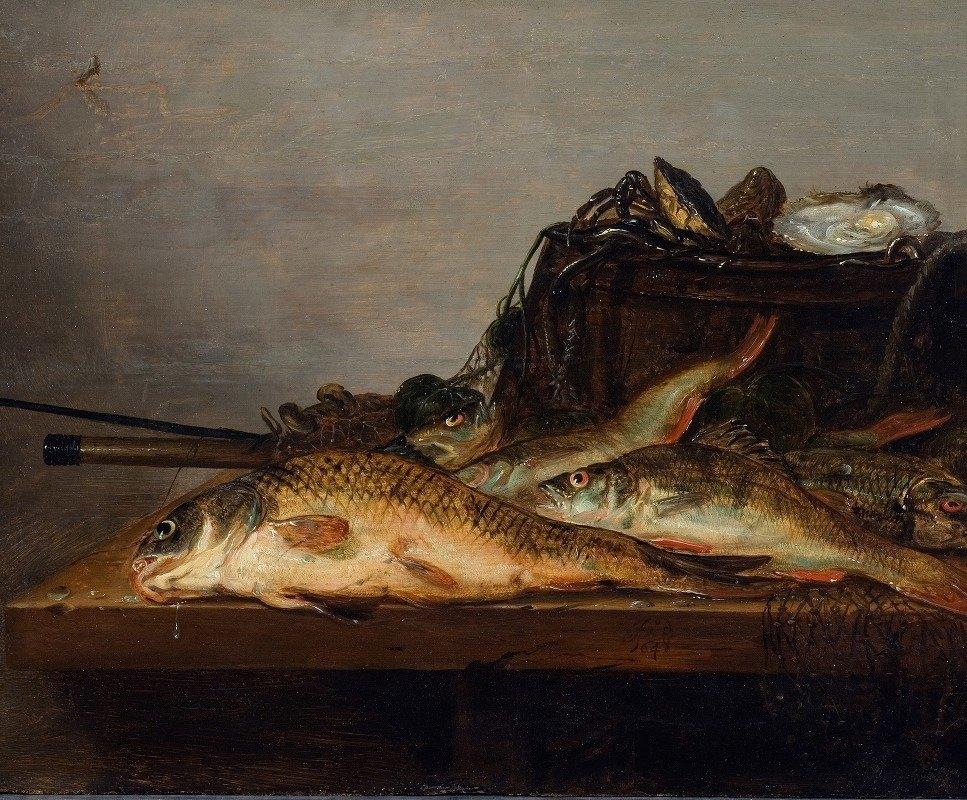 Jan Dirven - Still Life with Fish