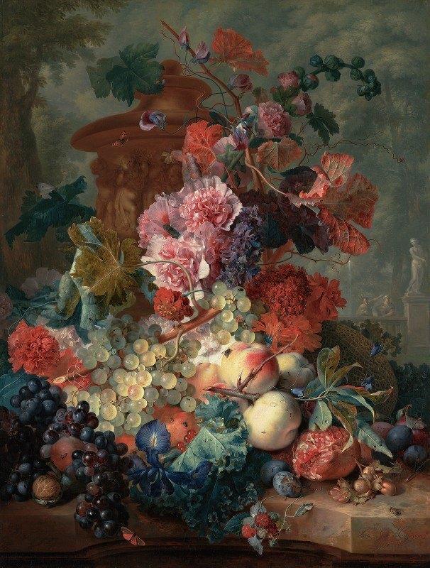 Jan van Huysum - Fruit Piece
